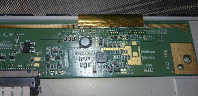 Panel Tcon Board TV LED TOSHIBA 19HV10E
