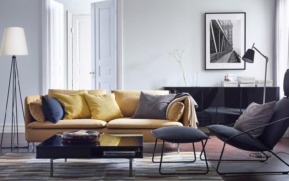 come illuminare al meglio il soggiorno di casa