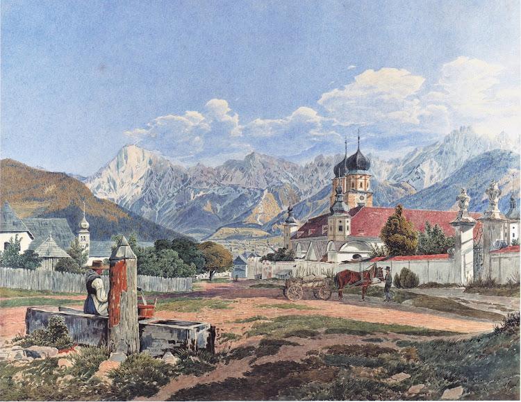 Jakob Alt - Stift Admont (c.1835)