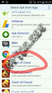 cara clone aplikasi android
