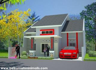 Contoh rumah minimalis sederhana type 21