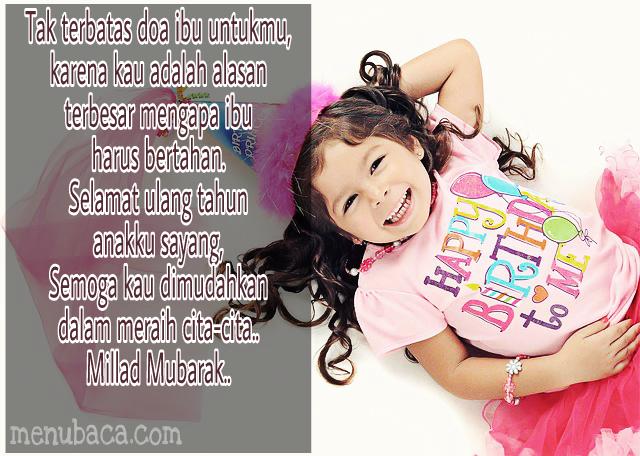Kata Kata Mutiara Ulang Tahun Anak Perempuan Cikimm Com