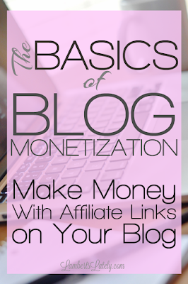 This blogger has an awesome post on ways you can use affiliate links to make money on your blog! This is a great resource for all bloggers, from new to experienced. She gives companies you can work with and methods on how to integrate links into posts!