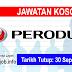 Job Vacancy at Perusahaan Otomobil Kedua Berhad (PERODUA)