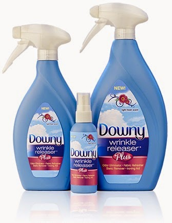 New Downy Wrinkle Releaser Plus