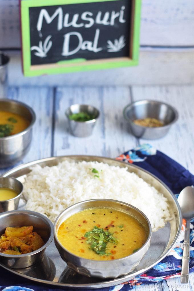 how to cook masoor dal in pressure cooker