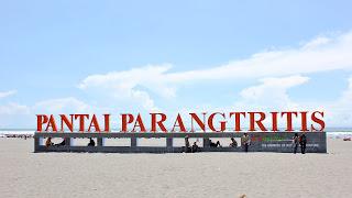 parangtritis beach tulisan