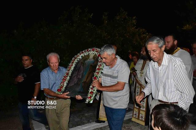 Με κατάνυξη ο εορτασμός της μνήμης των Θεοπατόρων Ιωακείμ και Άννης στην Αγία Τριάδα (Μερμπακα)