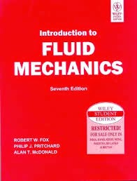 solution manual of fluid mechanics by fox and mcdonald, download pdf, gate solved books, 7th edition