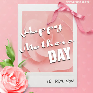 mothers day wishes greetings card