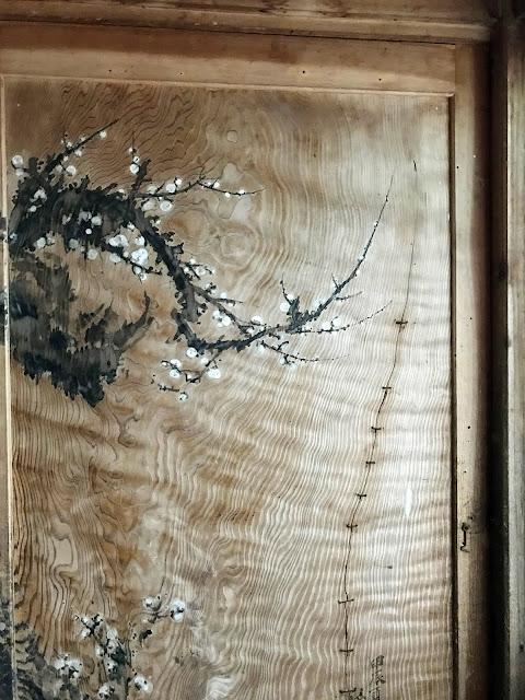 常照皇寺の桜の扉絵画像