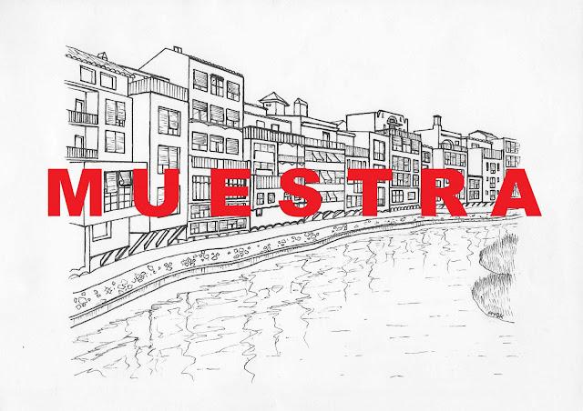 Green Pear Diaries, dibujo, turismo, Globetrotters Gifts, láminas para colorear, Girona