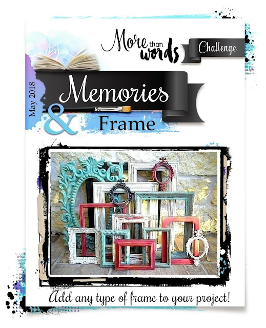 May 2018 Main Challenge  MEMORIES & FRAME