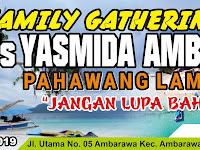 Desain Banner Family Gathering MTs Yasmida Ambarawa Pahawang Lampung