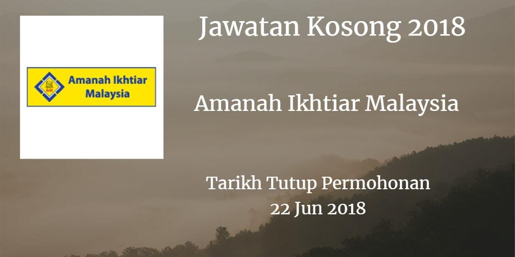Jawatan Kosong AIM 22 Jun 2018