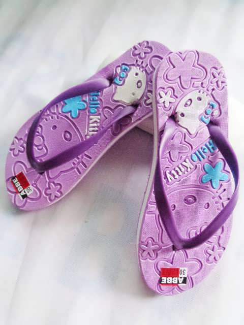Hellokity Press sandal Anak-anak ungu