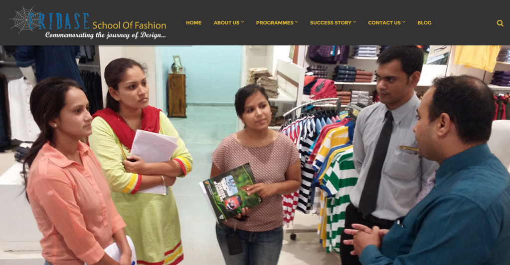 Web Designer In Udaipur Eridase School Of Fashion Design Fashion Design Institute Udaipur