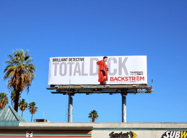 Backstrom season 1 billboard