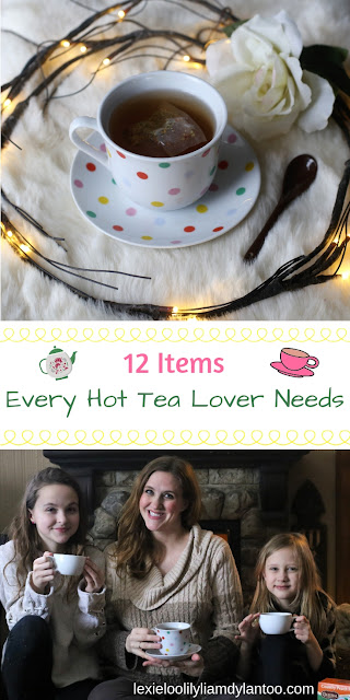 12 Items EVERY hot tea lover needs! The perfect gift guide for the tea lover in your life! #hottea #tea #giftguide #selfcare #wellness {Sponsored by Celestial Seasonings}