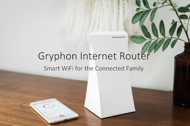 Gryphon Internet Router, Smart WiFi for the Connected Family