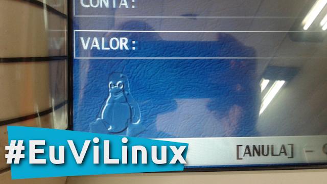 Eu Vi Linux no Banrisul