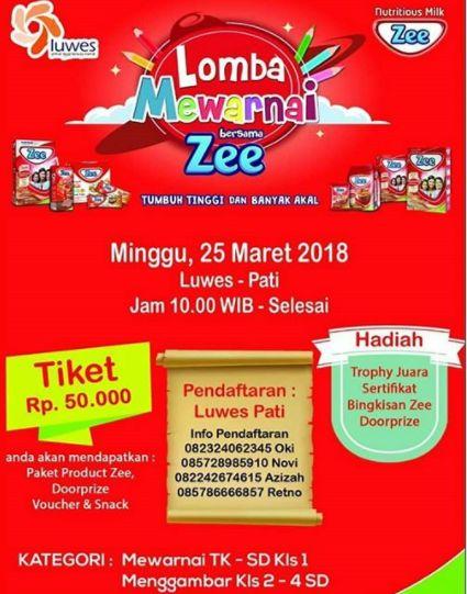 Info Lomba Info Lomba Mewarnai Terbaru 2018 Area Pati Lomba Asia