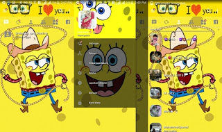 Download BBM MOD Spongebob Versi Terbaru v3.2.0.6 APK