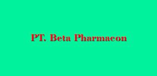 Lowongan Kerja di Karawang : PT Beta Pharmacon - Operator Produksi/Packing