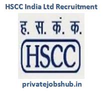 HSCC India Ltd Recruitment