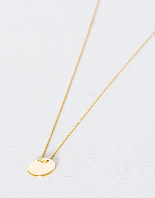 Collier fin plaque - Pull&bear