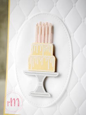 Stampin' Up! rosa Mädchen Kulmbach: Geburtstagskarten mit Kuchen ist die Antwort, Tortenstanze und Framelits Stickmuster
