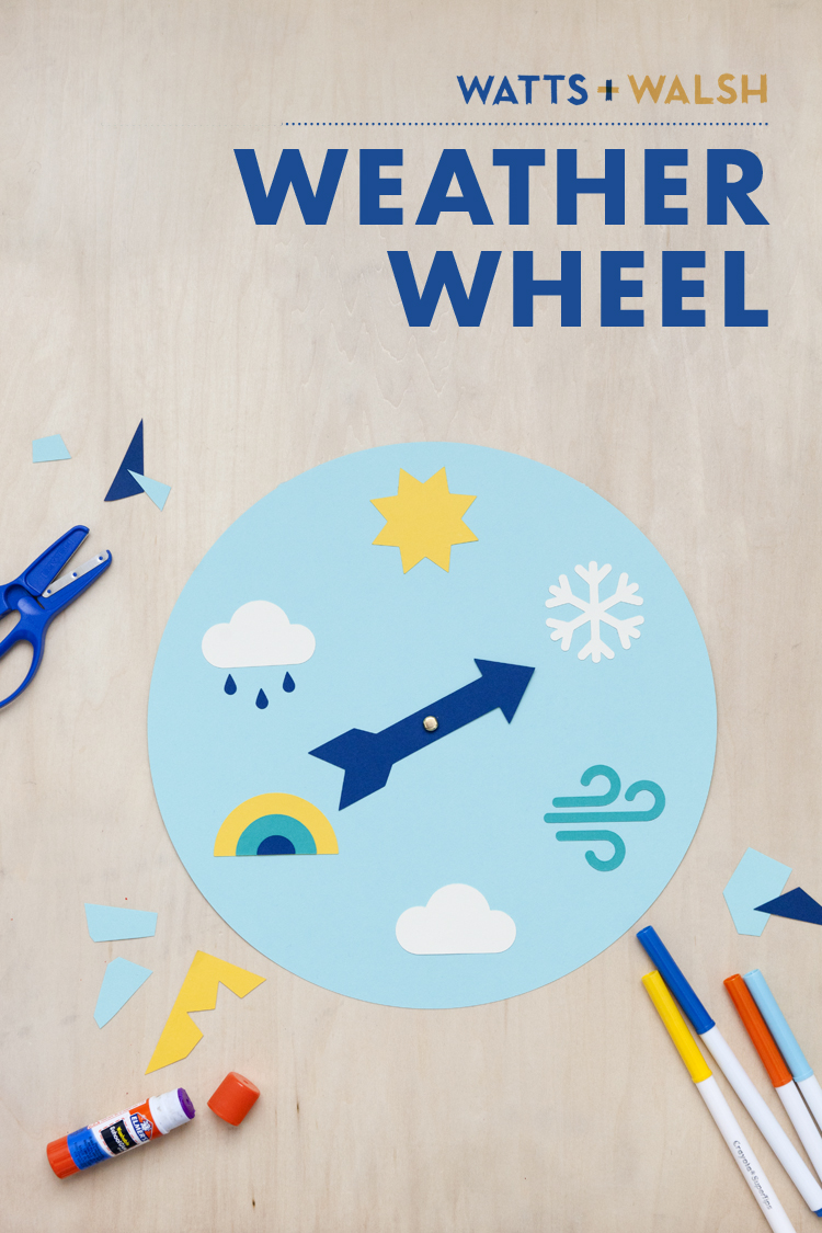 do it yourself craft paper supplies weather wheel learning