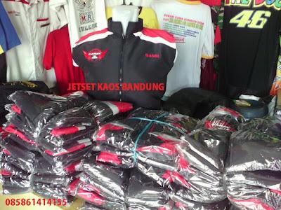 Pusat Tempat Pembuatan Baju Kaos Jaket Rompi Sablonan Murah di Kota Bandung Jawa Barat