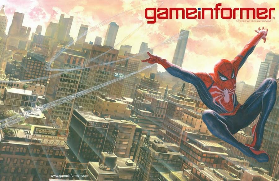 marvel's spider-man game game informer
