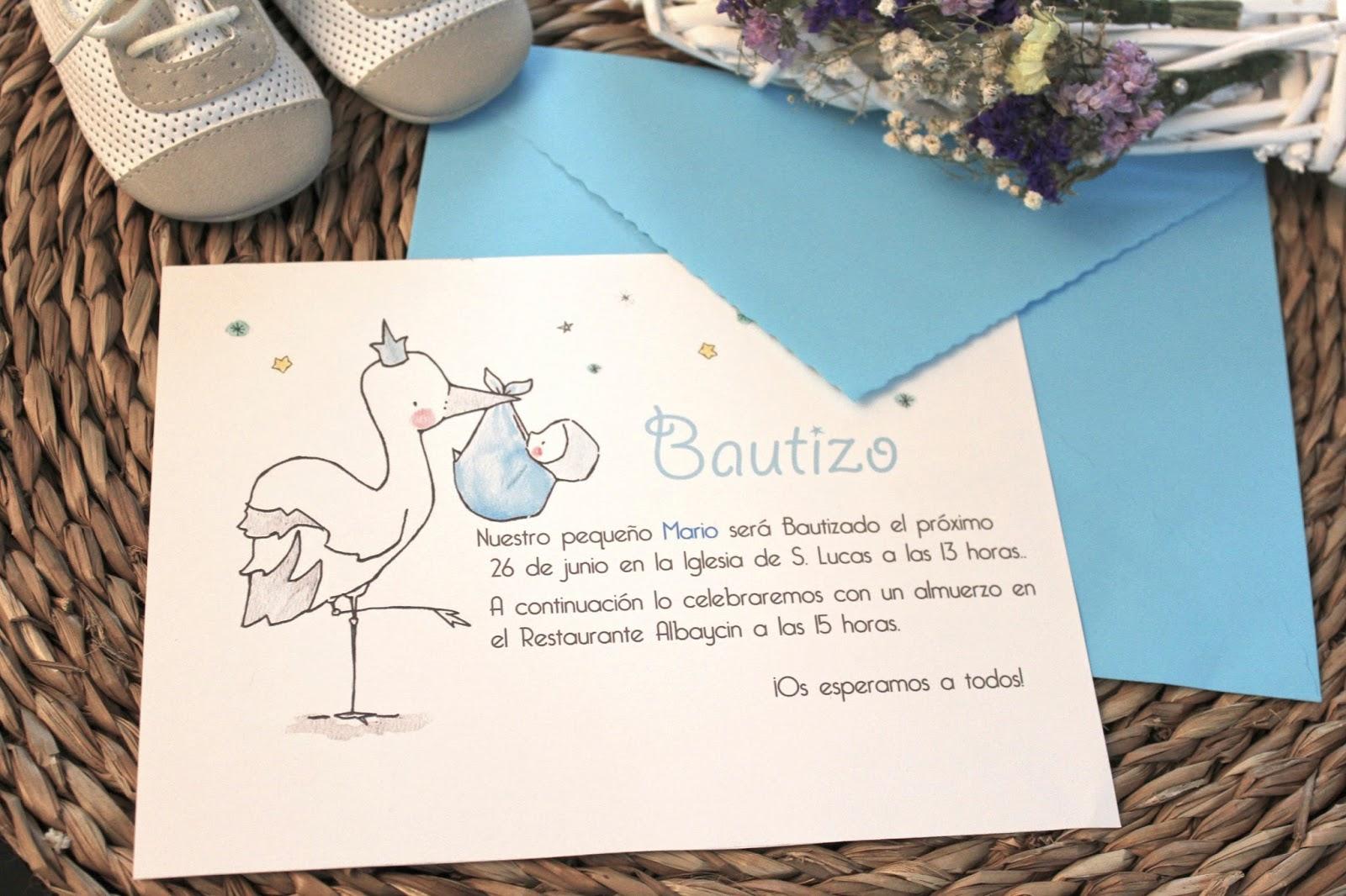 invitaciones para bautizo
