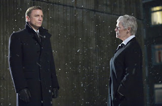 Daniel Craig and Judi Dench in Quantum of Solace