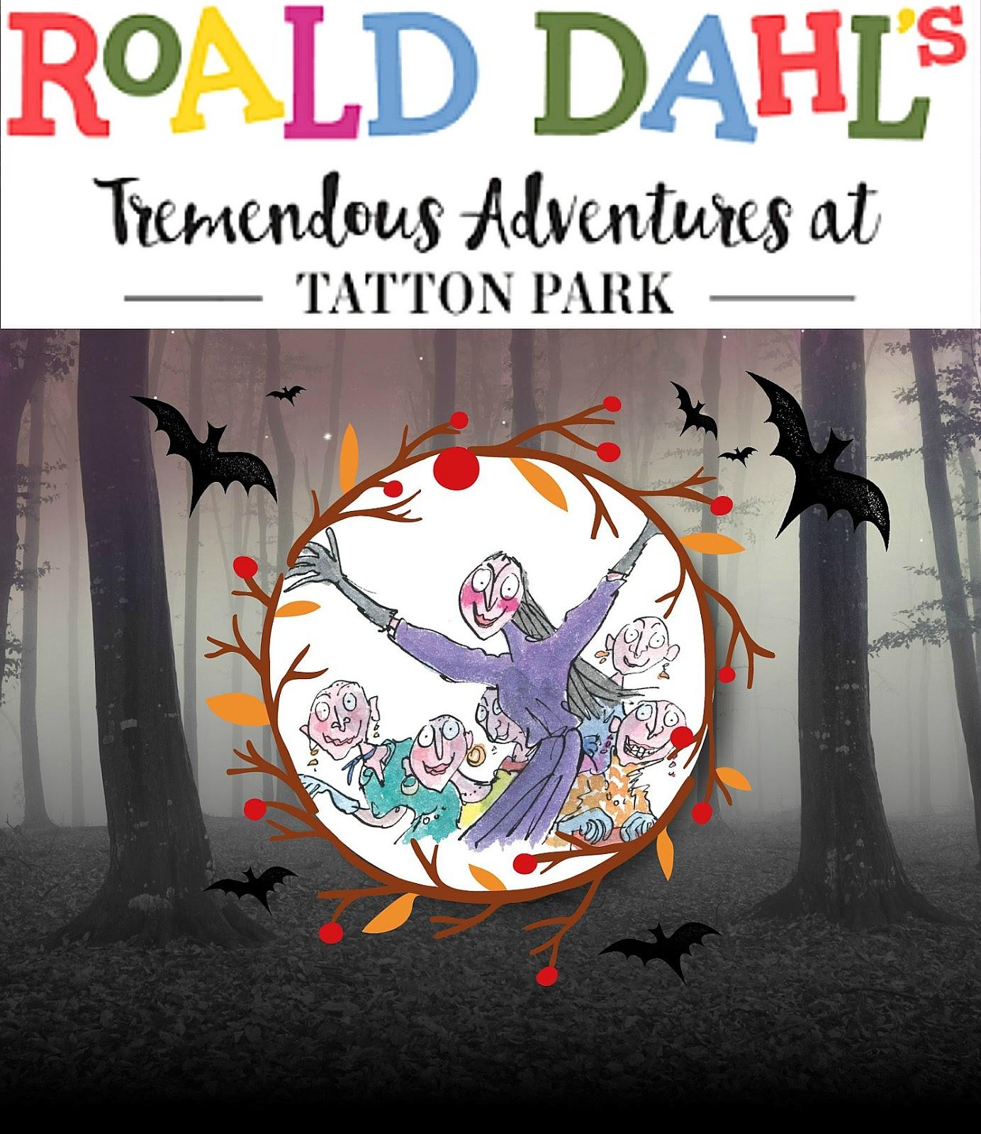 Tatton Park Autumn Half Term activity, Halloween at Tatton park, Roald Dahl The Witches