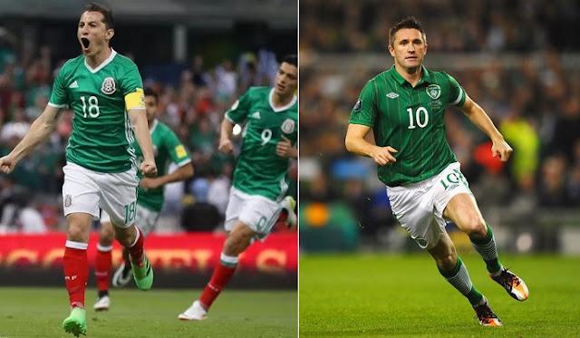 Mexico vs Irlanda en vivo