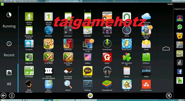 Tải BlueStacks 1 ,2, 3 - Phần mềm giả lập Android trên PC tốt nhất 2