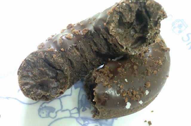 ミスタードーナツの「ダブルチョコレート」