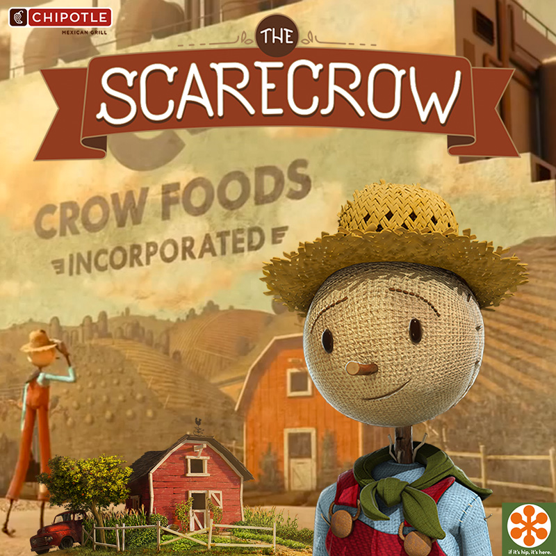 chipotle scarecrow ad behind the scenes