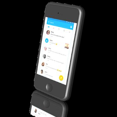 Aplikasi SMS android terbaru Go SMS pro gratis