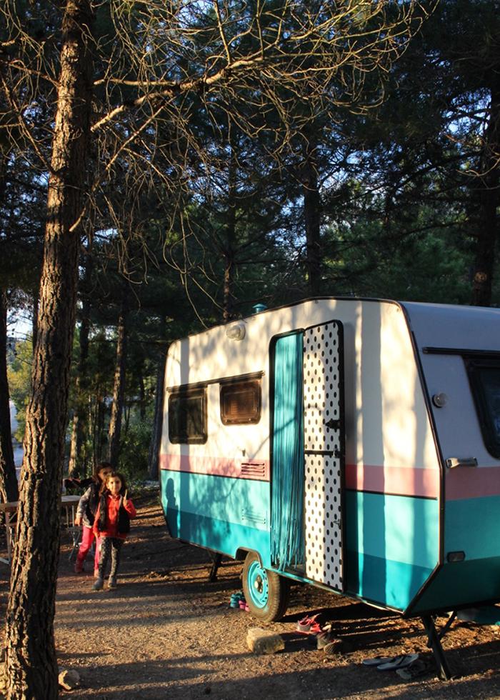 Cool camping: camping siurana