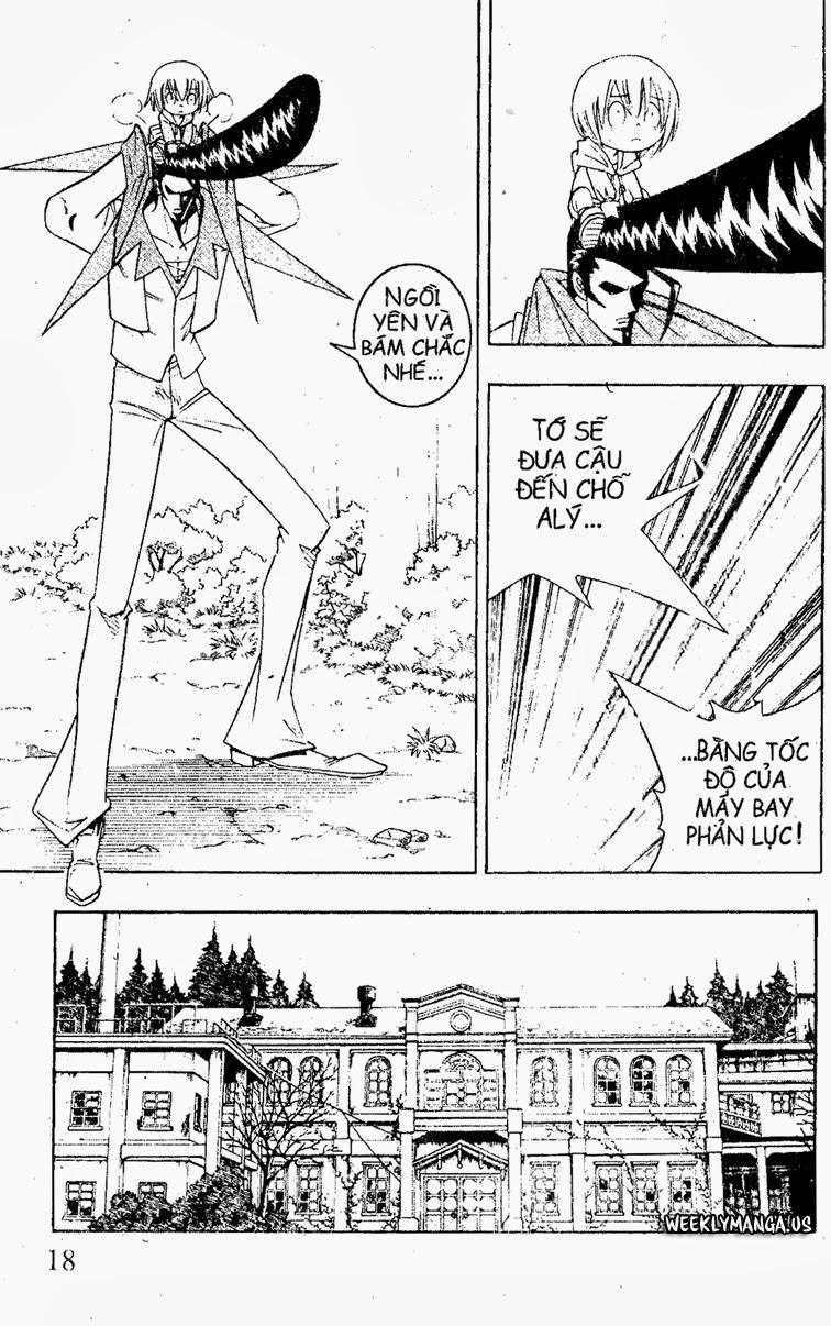 Shaman King [Vua pháp thuật] chap 179 trang 7