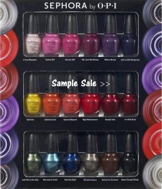 Opi samples