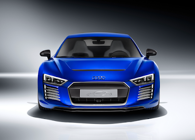 Audi's R8 e-tron electric sports car now drives itself