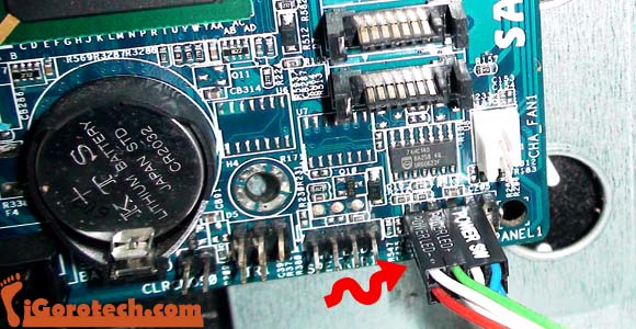 Panel Led: Front Panel Led Connectors