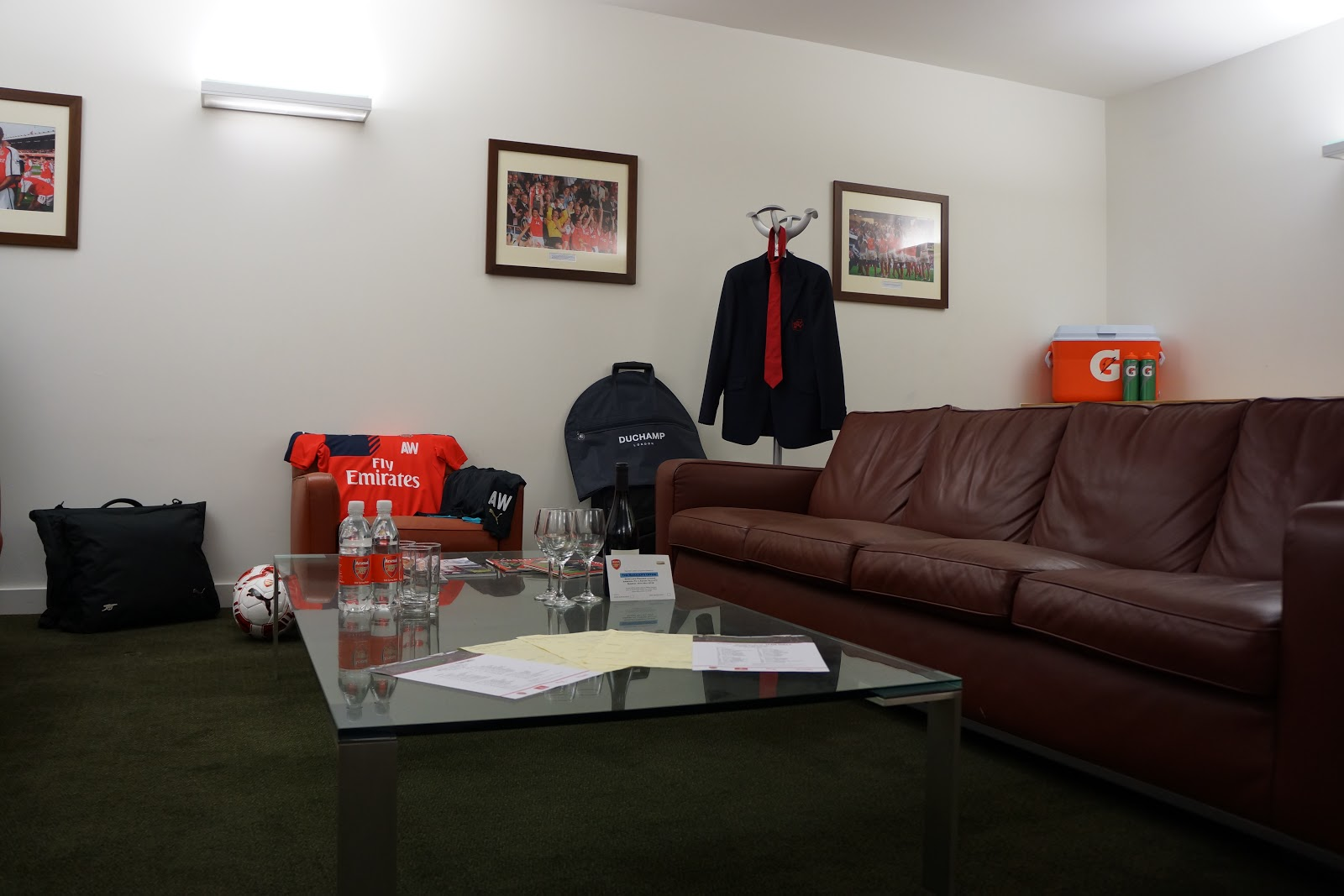 managers room at Arsenal Stadium  Tour
