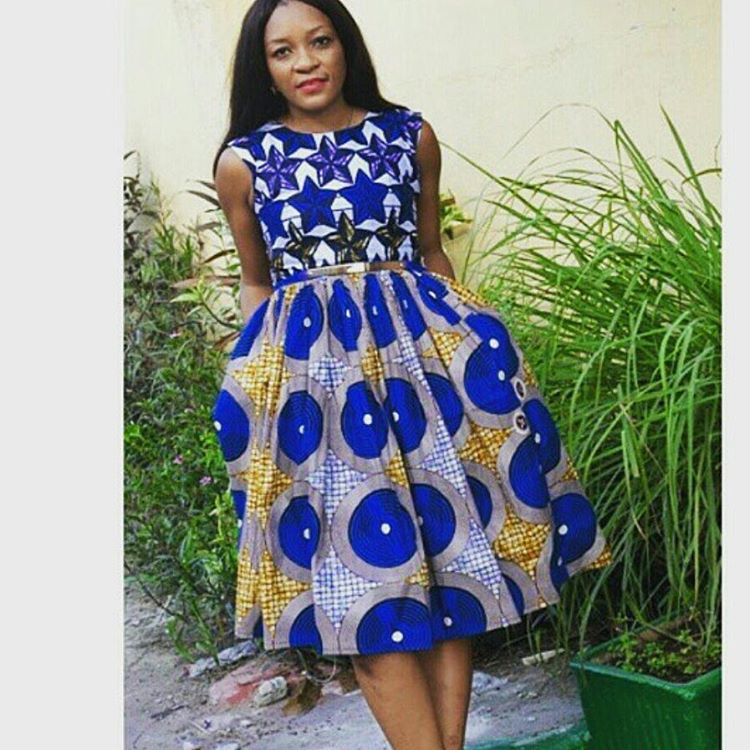 Native Styles || Oteofe Blog: Short Gowns Look-book-Vol 1