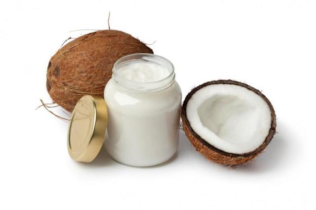 banho de óleo de coco